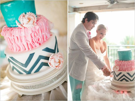 Turquoise Fuchsia Wedding: 1000+ Images About Cristine & Steve Wedding