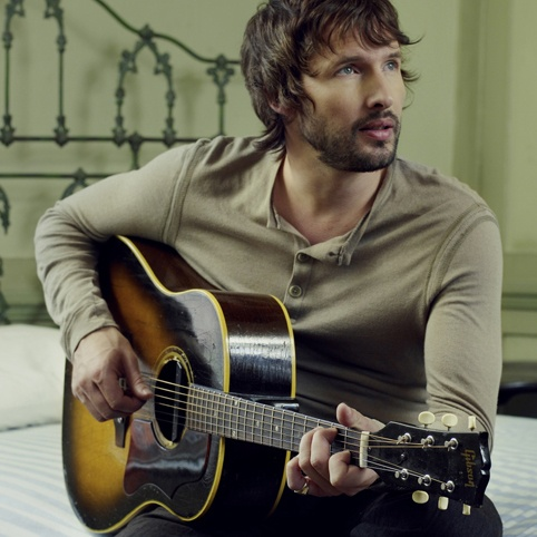 James Blunt, UK  - he was serving in the army before becoming a singer. What's greater than that?!