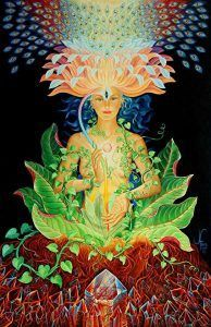 V podstate všetko, čo zješ či vdýcheš, ťa nejak ovplyvní. To, ako veľmi ťa to ovplyvní, závisí od toho, aký veľký význam si dal spojeniu s danou požitou bytosťou, aký význam si dal danej veci, akú pozornosť a sústredenie si dal tomu obradu. Zem je jedna bytosť a mimo iného sa to prejavuje tak, že naše ľudské telá odpovedajú na látky z tiel rastlín, húb či zvierať – vzájomne sa ovplyvňujeme.