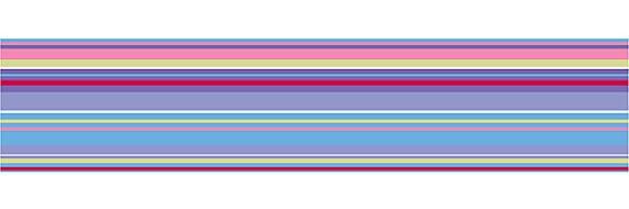 Wall Pops Ribbon Candy Purple Wall Sticker Stripes - Wall Sticker Outlet