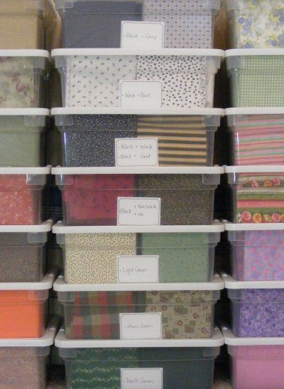 145 Best Images About Quilting Room Fabric Storage On