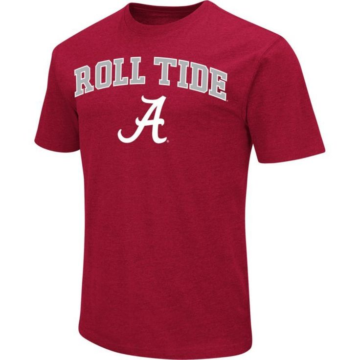Colosseum Athletics Men's Alabama Crimson Tide Crimson Team Slogan T-Shirt, Size: Medium