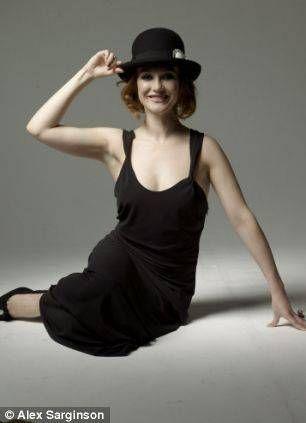 Carice Van Houten in Black Bow Dress