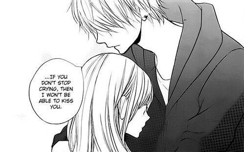 Если не перестанешь плакать, мне придется поцеловать тебя