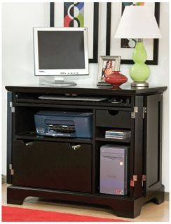 Bedford compact computer desk office man cave for Man cave desk