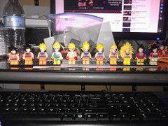 all goku (teamfourstud) Tags: 2 3 ball 1 3d dragon lego 4 super printing z gt custom dragonballz bootleg haul goku saiyan dbz dragonballgt ssj ssj4 supersaiyan ssj3 ssj1 bragonball shapeways ssj2 decool