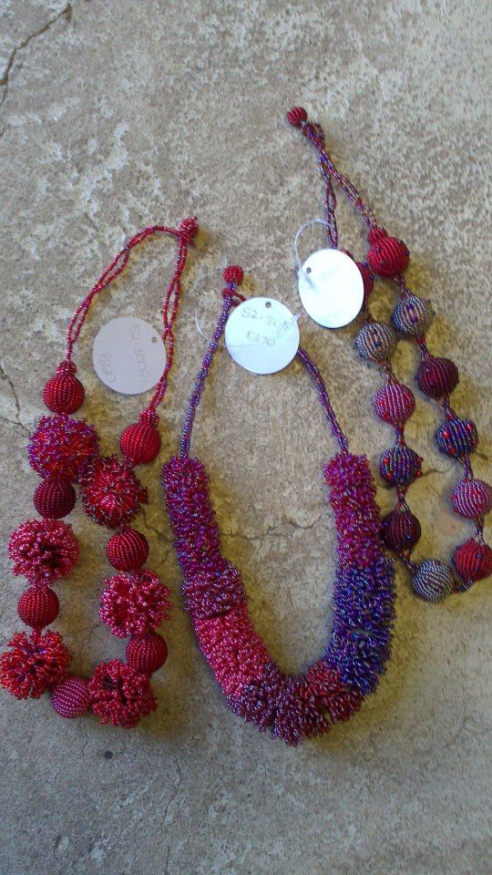 Necklaces from Woza Moya