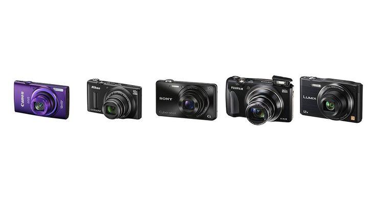 Las mejores (y más baratas) cámaras compactas en 2014