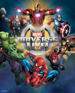 Marvel Universe LIVE is storming Canada this summer! Enter to win tickets in YOUR town