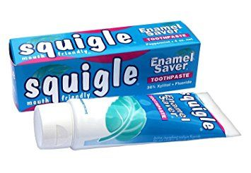 Squigle Enamel Saver Peppermint Toothpaste- 4 OZ – Helps PREVENT Canker Sores Review
