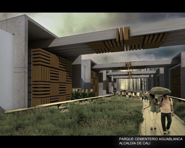 Parque cementerio aguablanca concept by Dek-O