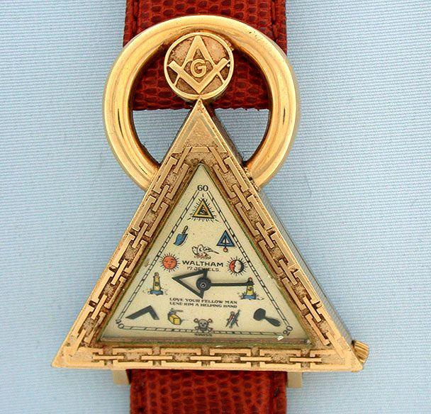Масонская наручные часы - Bogoff Винтаж наручные часы # 6492