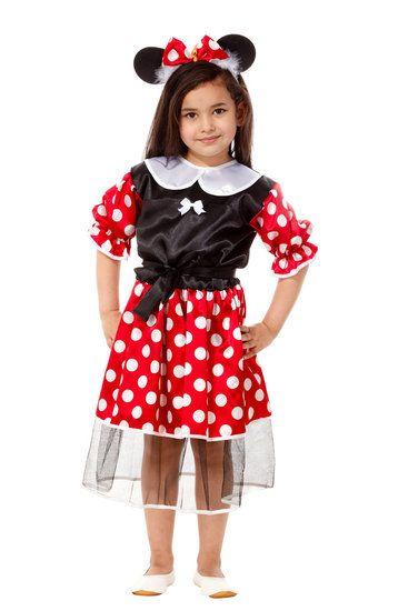 Minnie Mouse kostuum #minniemouse #kostuum #costume