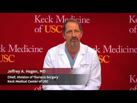 """What options are there for lung cancer testing at USC?  Lung cancer answers - WATCH VIDEO HERE -> http://bestcancer.solutions/what-options-are-there-for-lung-cancer-testing-at-usc-lung-cancer-answers    *** lung cancer surgery ***   Dr. Jeffrey A. Hagen, chief of thoracic surgery at Keck Medical Center of USC answers questions about lung cancer:  What options are there for lung cancer testing at USC? keckmedicine.org Music: """"""""Mining by Moonlight"""""""" Kev"""