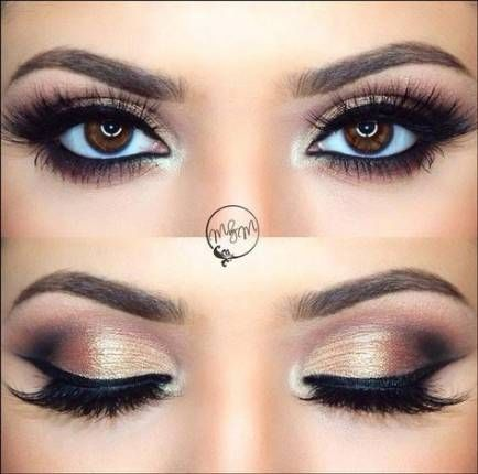 Makeup Ideas For Brown Eyes Purple Brows 24+ New Ideas