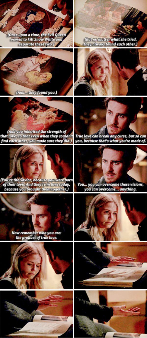 "Emma and Killian - 6 * 7 ""Heartless"" #CaptainSwan Killian once again giving Emma strength and hope."