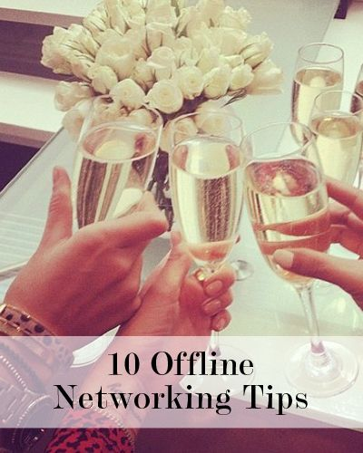 10 Offline Networking Tips Beyond Social Media | Levo League | #Networking Tips