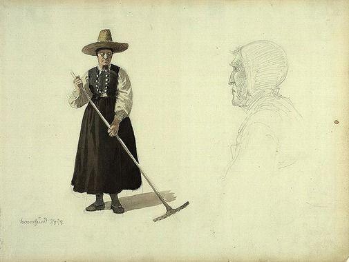 Adolph Tidemand 1848 Svennesund
