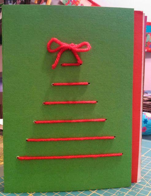DIY: Felicitaciones navideñas de Tiquimama