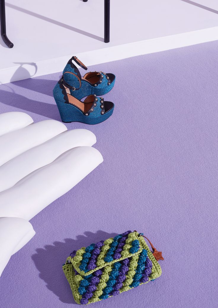 #MMissoni |Lurex Bags & Sandals | #Summer2016