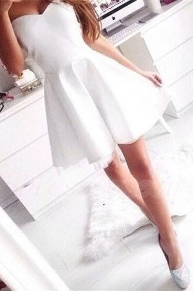 Simple Cheap Sweetheart Short Homecoming Dresses,Elegant Handmade Graduation Dresses For Teens http://www.luulla.com/product/591809/simple-cheap-sweetheart-short-homecoming-dresses-elegant-handmade-graduation-dresses-for-teens