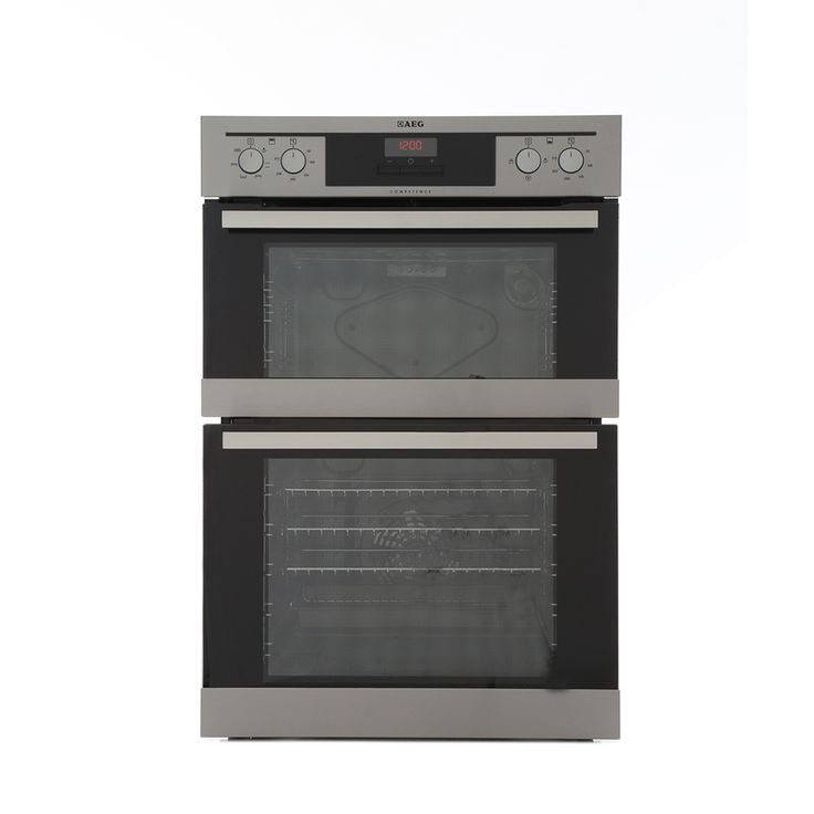 Buy AEG DE401301DM Double Built In Electric Oven - Stainless Steel | Marks Electrical