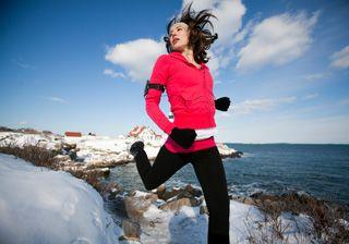 Lauf dich warm! Sport bei Minusgraden auf fem.com