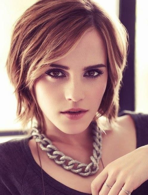 Emma Watson long layer                                                                                                                                                                                 Plus