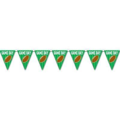 American Football Game Day Bunting - 3.7m (12') - 12 Flags