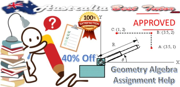 #Australia_Best_Tutor offers an extensive range of #academic_solutions to the #students. It also acts as a #Geometry_Algebra_Assignment #problem_solver for the #students_weak in this #subject.  #Visit_Here  https://www.facebook.com/dissertationwritinghelps/photos/a.1419966644968191.1073741828.1413811682250354/1630475640583956
