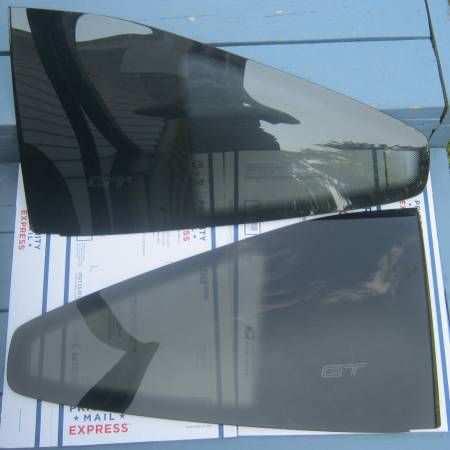 1986-1988 Pontiac Fiero GT fastback rear quarter windows tinted – auto parts – by owner
