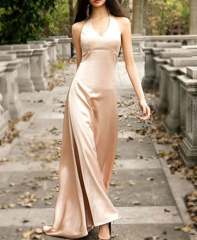 Elegant Sleeveless Beam Waist Maxi-Dress – teeteecee - fashion in style