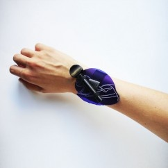 Mor Shell Bileklik  - #tasarim #tarz #mor #rengi #moda #hediye #ozel #nishmoda #purple #colored #design #designer #fashion #trend #gift