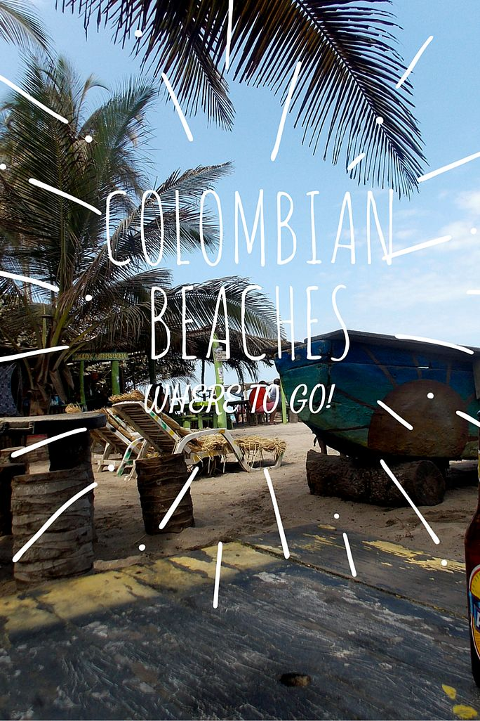 The Travel Natural | Bikinis and Beach Bumming in Colombia - a guide to beaches on the Caribbean Coast of Colombia, South America