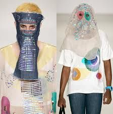 Is this Burka fashion 21st Century style?