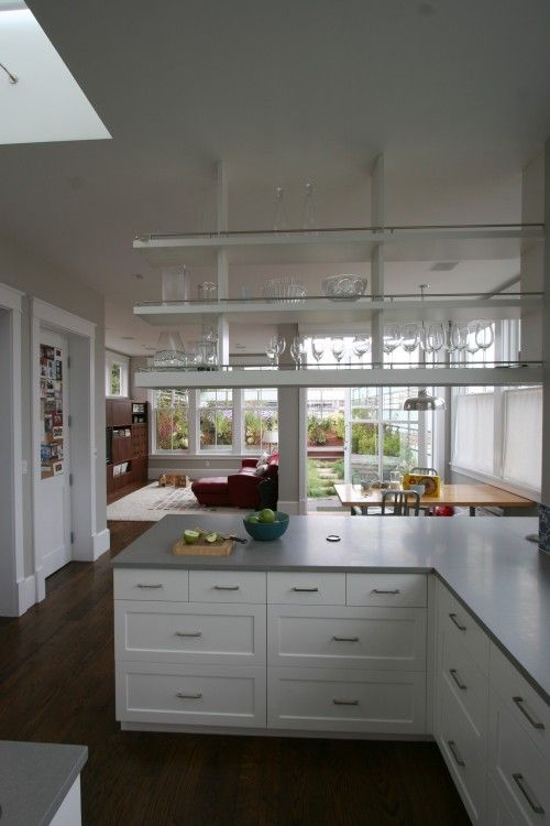 179 best images about open shelves on pinterest open for Off the shelf kitchen units