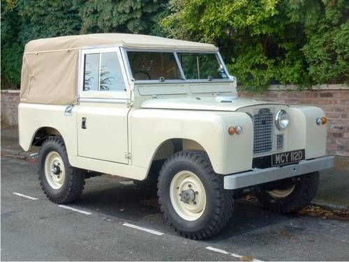 1966 Land Rover Series II A