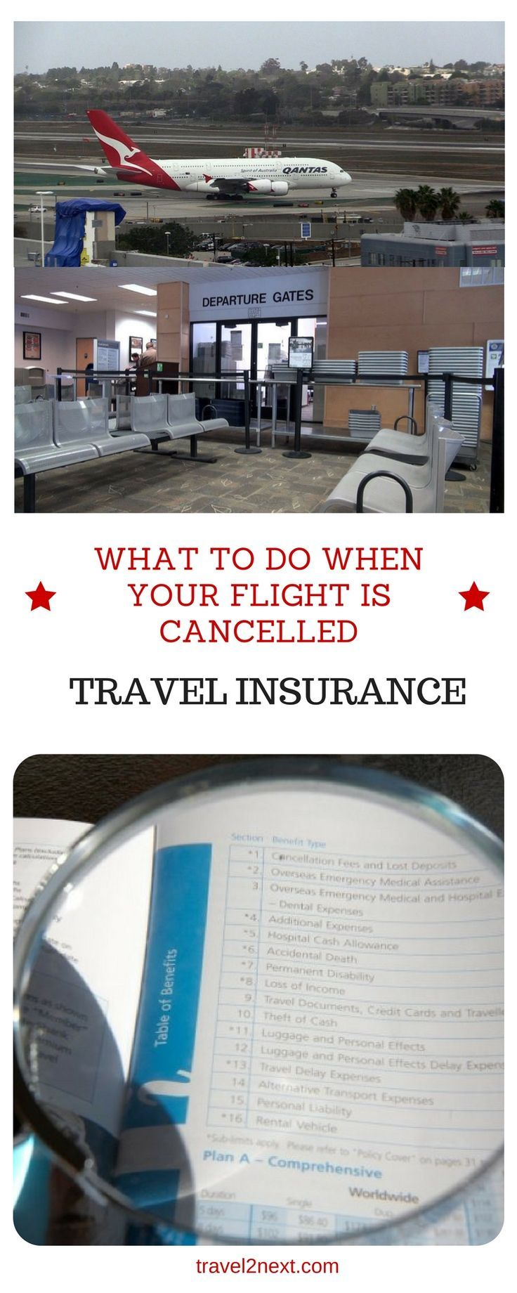 what to do when your flight is cancelled. Is travel insurance worth it? What can you claim when you miss your flight? Read on to find out what to do when your flight is cancelled.