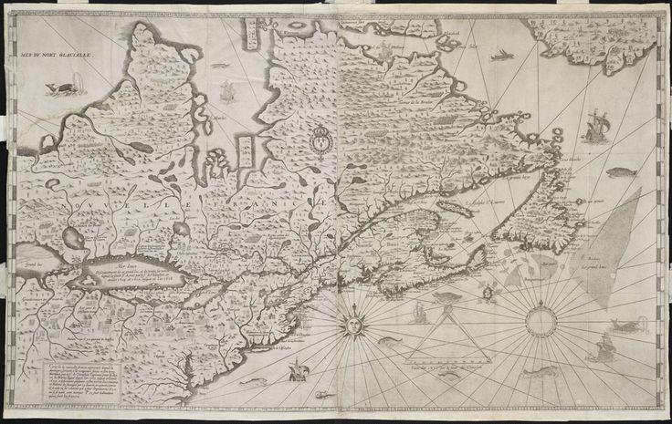 New France Map by Samuel de Champlain (1632) : oldmaps