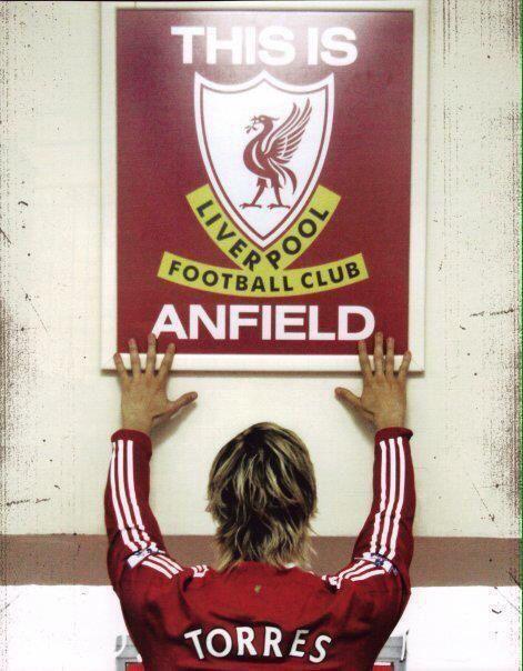 Fernando Torres Anfield Liverpool