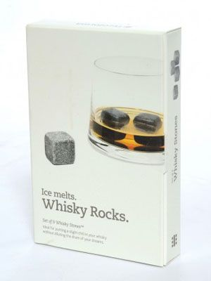 Unique Boyfriend Gift - Reusable whiskey stones will keep his drink cool without watering it down -- I bought these for my boyfriend with some tumblers and he loved them!