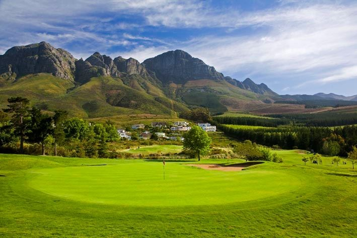 Stunning view of the Helderberg Mountains in Somerset West!