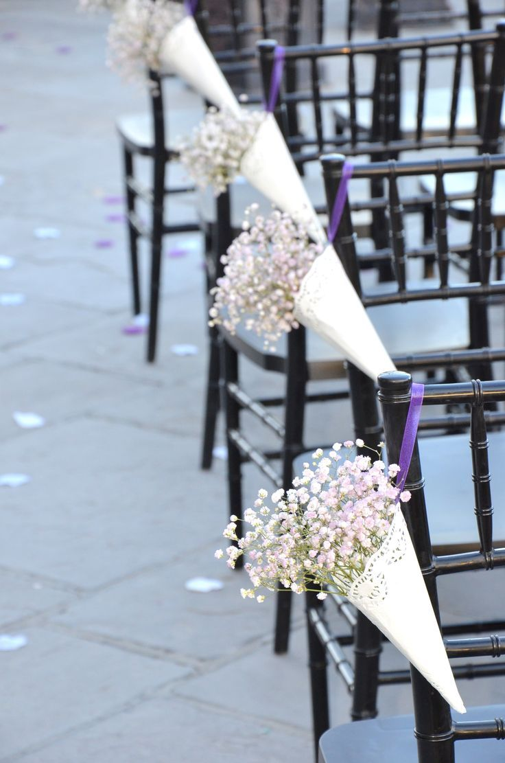 Great DIY Wedding Project Inspirations For Your Big Day Love The Idea Of These Aisle Cones