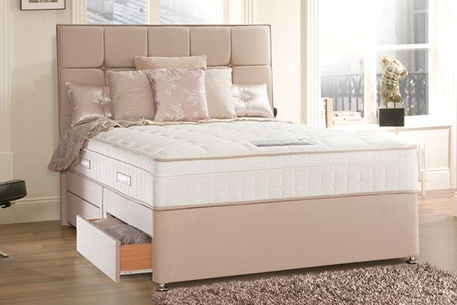 Sealy Seally Torsion Response Sprung Base Only - British Bed Stores