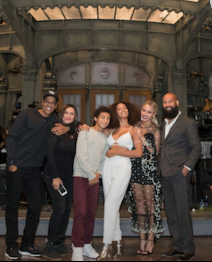 Beyonce, Solange and the Family                                                                                                                                                                                 More
