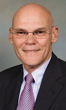 """Chester """"James"""" Carville, Jr. (born October 25, 1944) is an American political consultant, commentator, educator, attorney, and prominent liberal pundit. Carville gained national attention for his work as the lead strategist of the successful presidential campaign of then-Arkansas governor Bill Clinton. As of 2009, he hosts a weekly program on XM Radio titled 60/20 Sports with Luke Russert, son of the late Tim Russert who hosted NBC's Meet The Press. In 2009, he began teaching political…"""
