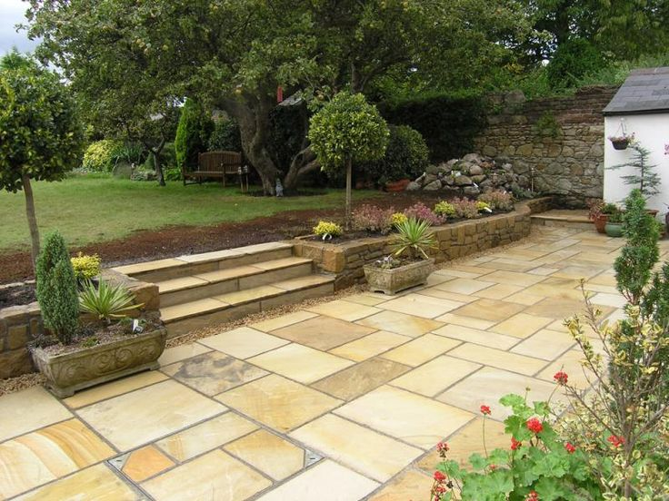Find This Pin And More On Natural Stone Patios   Natural Enduring Beauty By  Owenchubb.