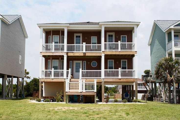 House vacation rental in Oak Island, NC, USA from VRBO.com! #vacation #rental #travel #vrbo