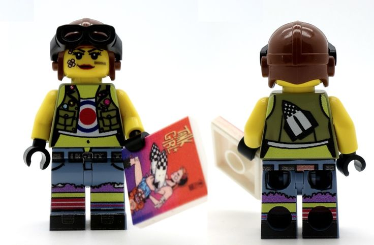custom Lego Tank Girl movie version collectors  #Custom