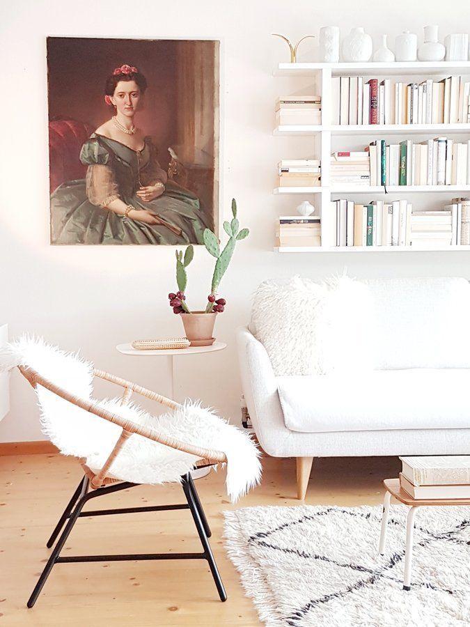 Helles Wohnzimmer SoLebIchde Foto filomena #solebich #wohnzimmer